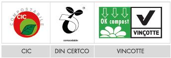 Buste riciclabili - Certificazioni del compostabile